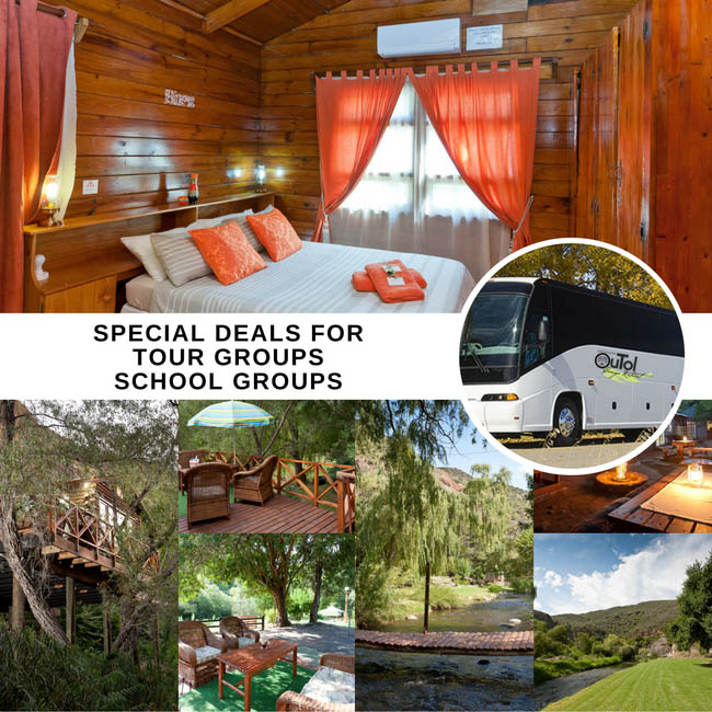 Special Accommodation Offers on Group Bookings with Cango Retreat